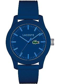 0fe6c29dd3 Lacoste Homme Analogique Quartz Montres bracelet avec bracelet en Silicone  - 2010765