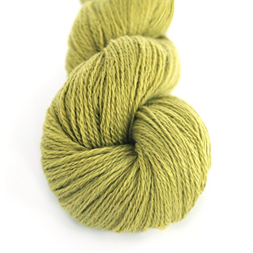 Lotus Hank Pure Mongolian Cashmere Fingering Weight Hand Knitting Yarn Warm and Soft ()