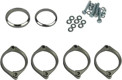 SODIAL - Abrazaderas de reparación para Caja de Escape de BMW E46 M3: Amazon.es: Coche y moto