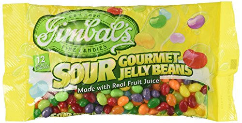GIMBAL'S FINE CANDIES EST. 1898 , Sour Gourmet Jelly Beans,