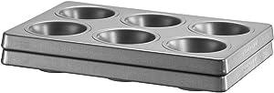 KitchenAid KBNSS06MF Six Muffin Forms, Set of 2, Grey