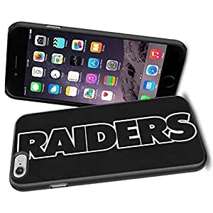 American Football NFL OAKLAND RAIDERS, Cool iPhone 6 Case Cover Collector iPhone TPU Rubber Case Black