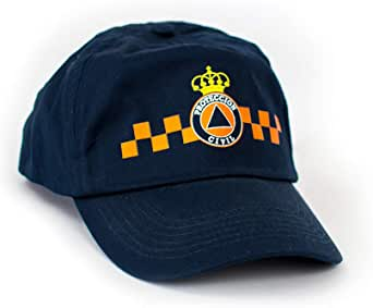 Gorra Protección Civil. Niño y Adulto (Marino, Adulto): Amazon.es ...