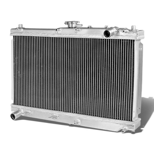 (DNA Motoring RA-MM98-2 2-Row Full Aluminum Radiator)