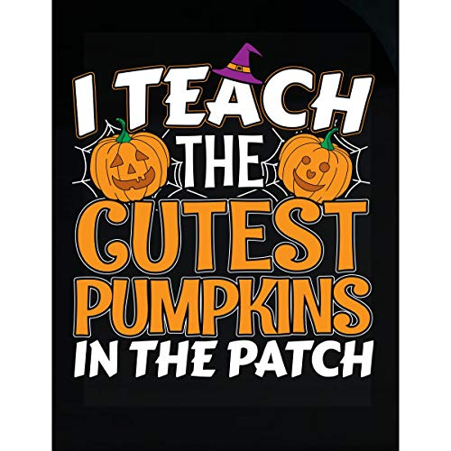 Wowteez Teacher Halloween Idea The Cutest Pumpkins in The Patch - Transparent Sticker ()
