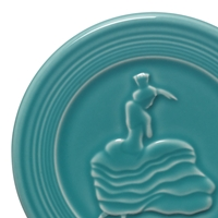 Fiesta® Trivet in Turquoise