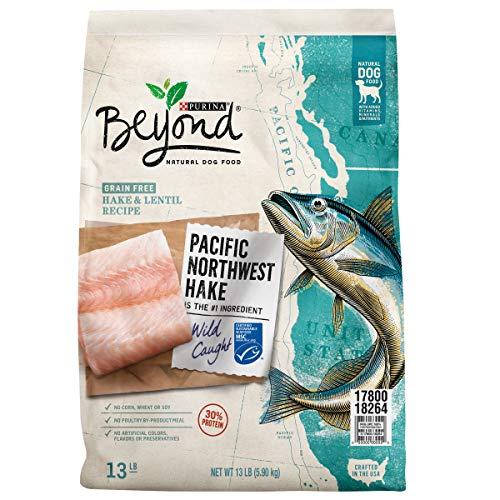 Purina Beyond Grain Free, Natural, High Protein Dry Dog Food; Pacific Northwest Hake & Lentil Recipe - 13 lb. Bag