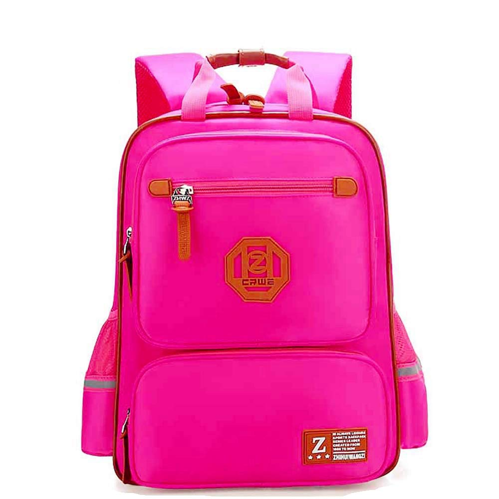 Elementary School Bags Bookbag Waterproof Lightweight Reflective