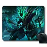 Customizablestyle League of Legends Thresh Mousepad, Customized Rectangle DIY Mouse Pad