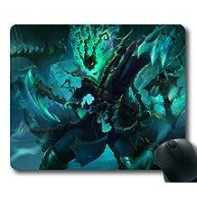 Customizablestyle League of Legends Thresh Mousepad, Customized Rectangle DIY Mouse Pad