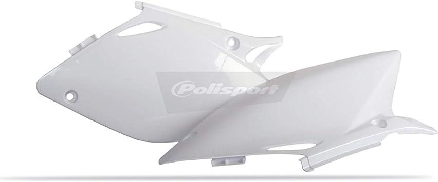 White Polisport 05-06 Honda CRF450R Side Panel Set