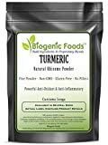 Turmeric - Natural Standardized Rhizome Fine Powder (Curcuma Longa), 10 kg
