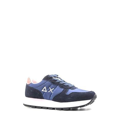 Zapatos Mujer Zapatillas SUN 68 en Lona Azul Marino Z28201-NAVY: Amazon.es: Zapatos y complementos