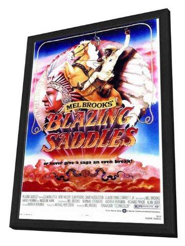 Blazing Saddles - 27 x 40 Framed Movie Poster