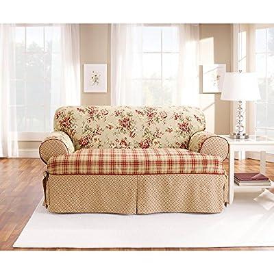 Sure Fit Lexington T-Cushion Sofa Slipcover