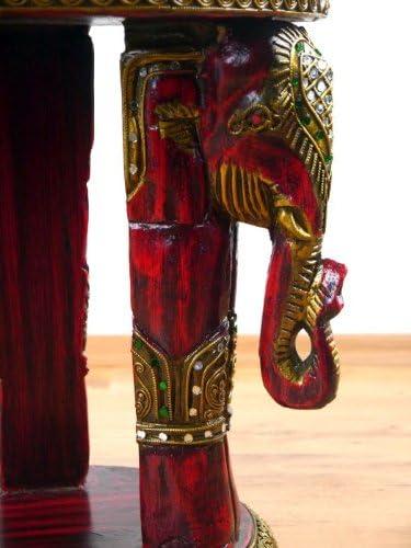 Handgefertigte Elefanten aus massiven mit Glasmosaik