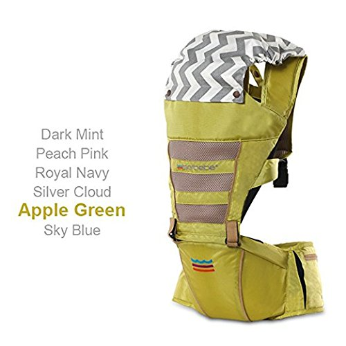 SINNAYEO - AIRO ROBIC 2.0 Hip Seat Carrier (Apple Green) by SINNAYEO