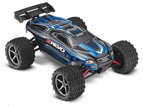 E-Revo: 1 16-Scale 4WD Racing Monster Truck with TQ 2.4GHz Radio - Blue