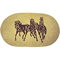 HiEnd Accents Three Horses Western Rug
