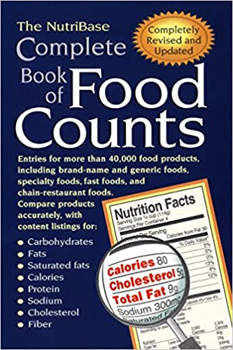 The Nutribase Complete Book Of Food Counts Nutribase 9781583331071