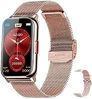 ZODVBOZ Smartwatch Relógio Inteligente Mulher Desportivo,IP68 à Prova d'água,Rastreador de Atividades com
