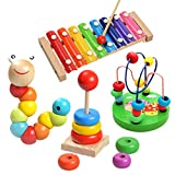 1 Sets of Wooden Educational Toys - Preschool Review and Comparison