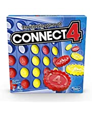 The Classic Game of Connect 4; Strategy Game for 2 Players; Connect 4 Grid; Get 4 in a Row; Game for Kids Ages 6 and Up