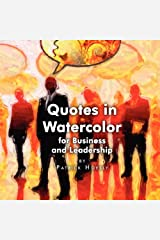 Quotes in Watercolor for Business and Leadership Paperback