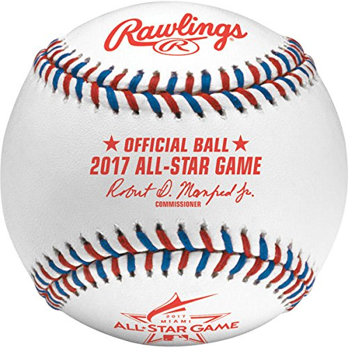 Rawlings MLB 2017 Official All Star Baseball in Display Cube by Rawlings