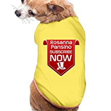 VOLTE Subscribe NOW Fashion Pets T-Shirt M Yellow