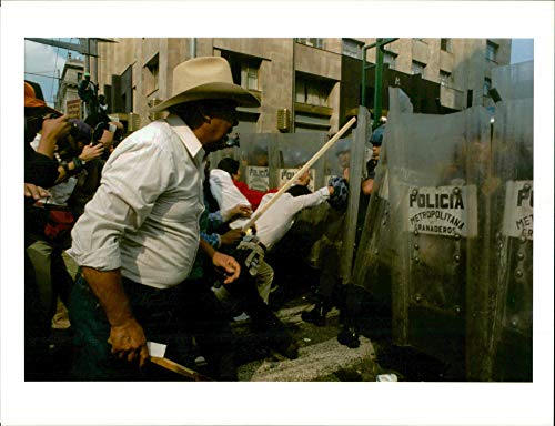 Vintage photo of Members of Mexico39;s opposition revolutionary democratic party.