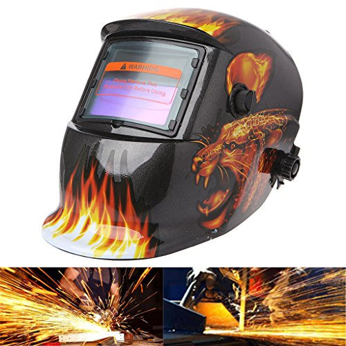 SYlive Solar automatic variable photoelectric welding mask football flame by SYlive