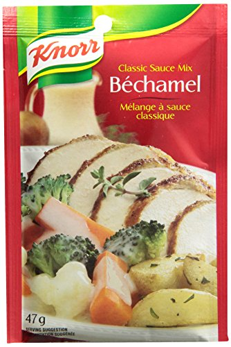 Knorr Bechamel Classic Sauce Mix, 47g 24-count {Imported from Canada}
