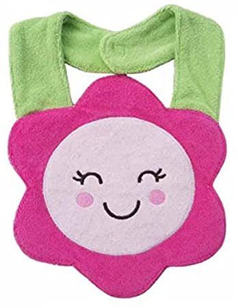 Lil' Oopsies Bibs for Toddlers - Premium Quality, 3 Layered Absorbent & Waterproof Teething, Feeding & Drooling Bibs. Unique Baby Shower Gift for Girls. Suitable for Husky Babies to Toddlers. Pig Lil' Oopsies
