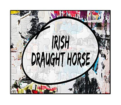 Irish Draft Horses - Makoroni - Irısh Draught Horse Horse Horses - Jigsaw Puzzle, 30 pcs.