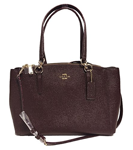 Christie 1 Crossgrain Oxblood Carryall in Leather Coach Im PndxUqzUw