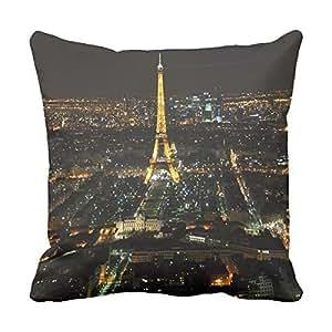 Throw Pillows Beautiful Eiffel Tower 18 Cushion Cover