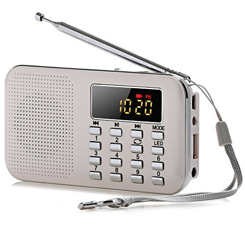Ohala Multifunctional Ultral-thin Fm Radio