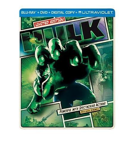 Hulk (Steelbook) (Blu-ray + DVD + Digital Copy + UltraViolet) by Universal Studios (Universal Studios Steelbook)