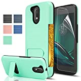 Best Kickstand Cases For Motorolas - Moto G4/G4 Plus case,[Not fit Moto G4 Play],AnoKe[Card Review