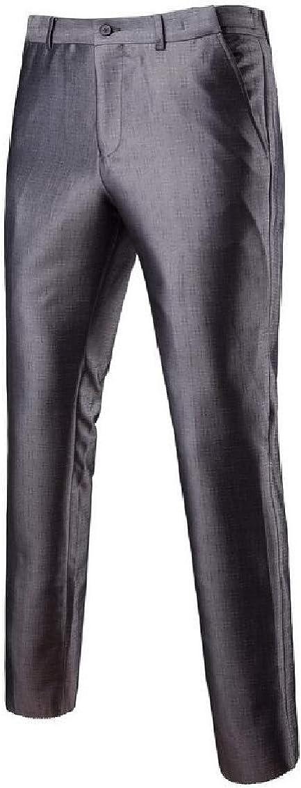 Fubotevic Mens 2 Piece Outfits Casual Slim Business 2 Pcs Suits Sets