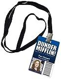 Pam Halpert Dunder Mifflin Inc. Novelty ID Badge The Office Prop Costume