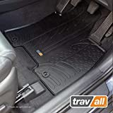Travall Floor Mats TRM1135R - Vehicle-Specific Full Set of Rubber Car Mats