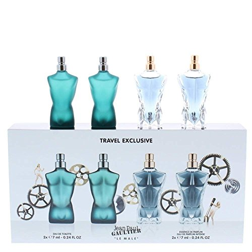 Jean Paul Gaultier Le Male 4 Piece Miniature (4 Piece Miniature Set)