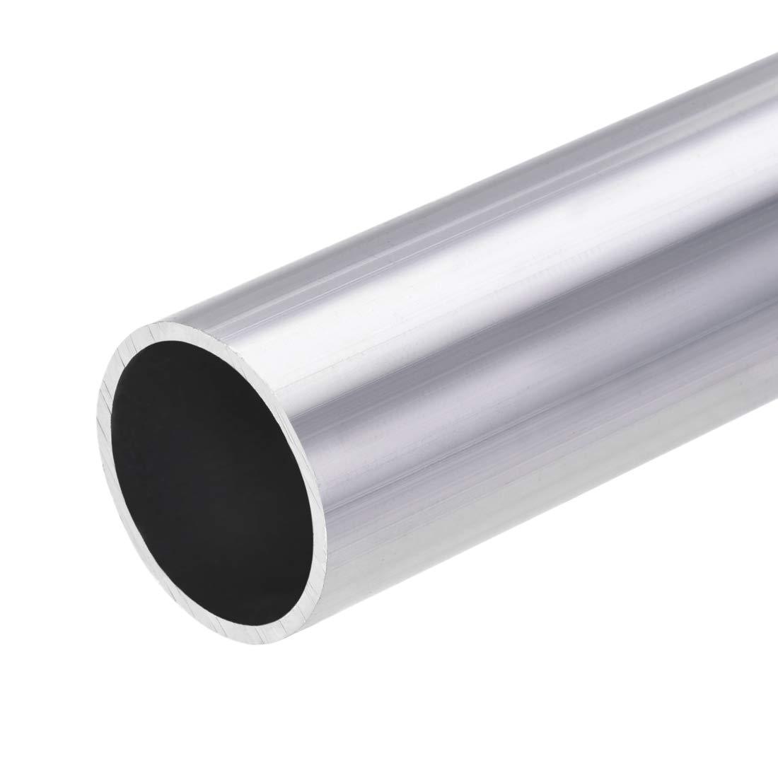 28mm OD 25mm Inner Dia 300mm Length Seamless Straight Tubing 3 Pcs uxcell 6063 Aluminum Round Tube