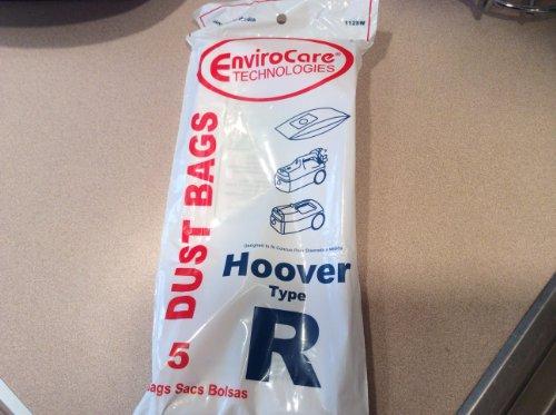 5 Hoover Type R Sprint, Tempo, Allergy VACUUM BAGs, Sprint,