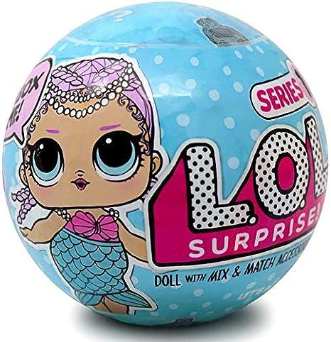 Amazoncom Lol Surprise 547358az Series 1 1 Doll Toys Games