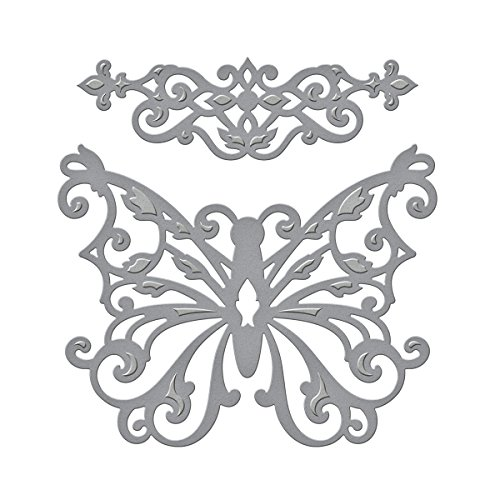 Spellbinders S2-069 Shapeabilities 'Outrageous Butterfly' Scrapbooking Template ()