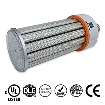 150W LED 5000K Corn Light Bulb, Mogul E39 Base, Replacement for 1000W Metal Halide, 21892 Lumens, Waterproof, Outdoor/Indoor