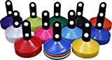 Set of 25 World Sport Disc Cones with Cone Stand (12 Colors to Choose From)...